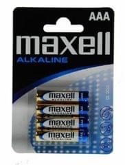 Maxell Baterija LR03, AAA, 1,5 V, 4 kosi