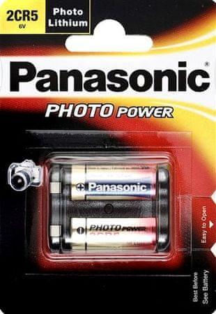 Panasonic Baterija Panasonic Lithium 2CR-5L 1400 mAh, 1 kos