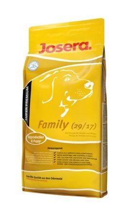 Josera hrana za breje psice in mladiče Family, 15 kg