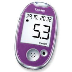 BEURER GL 44 mmol/ L Vércukorszintmérő, Lila