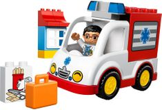 LEGO® Duplo 10527 Mentőautó