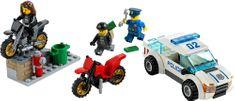 LEGO CITY 60042 Superszybki pościg policyjny