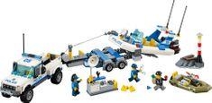 LEGO® CITY 60045 Patrol policyjny
