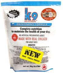 K-9 sucha karma dla psa Maintenance Formula Small Breed 3 kg