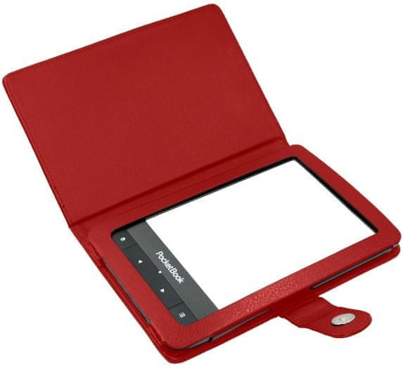 C-Tech pouzdro pro Pocketbook 622 / 623 / 624 / 626, PBC-01, červené