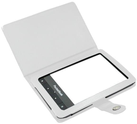 C-Tech pouzdro pro Pocketbook 622 / 623 / 624 / 626, PBC-01, bílé