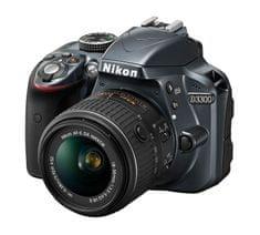 Nikon D3300 + 18-55 AF-P VR