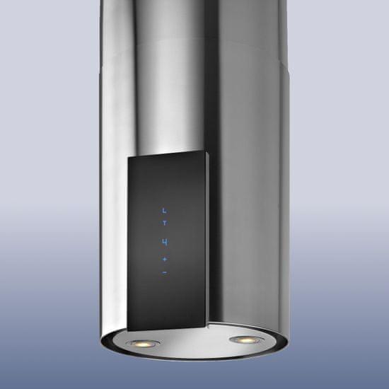GUZZANTI okap wyspowy ORW glass