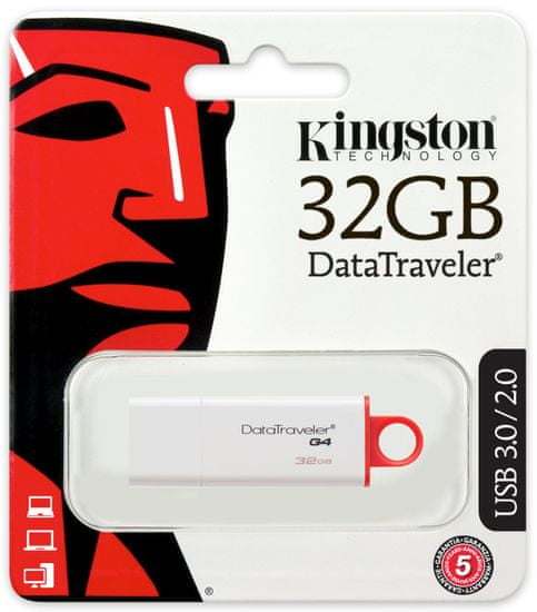 Kingston USB ključ DataTraveler G4 32 GB (DTIG4/32GB)