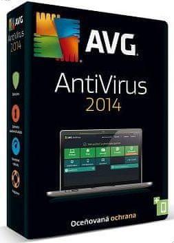 AVG Anti-Virus 2014 1uživ. / 12měs. DVD