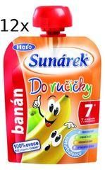 Sunárek Do ručičky banán 12 x 90g