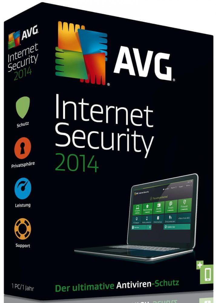 AVG Internet Security 2014 2uživ. / 12měs.