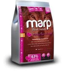 Marp holistična lahka hrana brez žit za starejše pse, puran, 2 kg