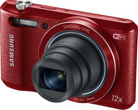 Samsung fotoaparat WB35, rdeč