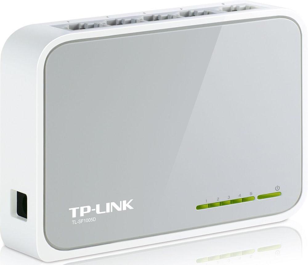 TP-LINK TL-SF1005D 5x 10/100Mbps Desktop Switch