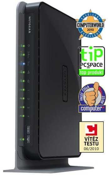 Netgear WNDR3700 WiFi N Gigabit Router Cz