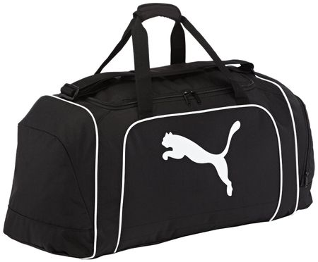 Puma torba sportowa Team Cat Large Bag Black/White