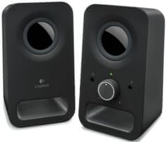Logitech Multimedia Speakers Z150 Midnight black