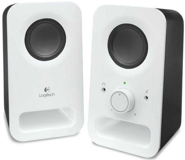 Logitech Multimedia Speakers Z150 Snow white (980-000815)