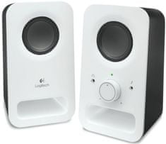Logitech Multimedia Speakers Z150 Snow white (980-000815)