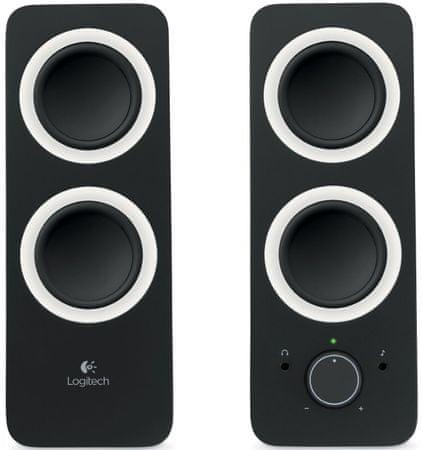 Logitech komplet zvočnikov 2.0 Z200, črn