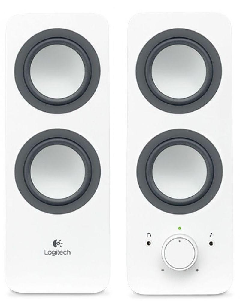 Logitech Multimedia Speaker Z200 Snow white (980-000811)