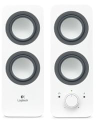 Logitech Multimedia Speaker Z200 Snow white (980-000811)
