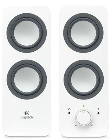 Logitech komplet zvočnikov 2.0 Z200, bel