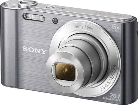 SONY CyberShot DSC-W810, srebrny