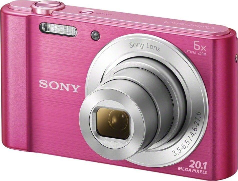 Sony CyberShot DSC-W810 Pink (DSCW810P.CE3) - rozbaleno
