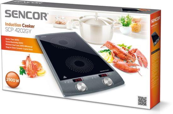 SENCOR kuchenka indukcyjna SCP 4202 GY