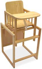 Grapi stolček za hranjenje Standard