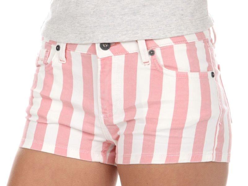 Pepe Jeans dámské kraťasy 25 růžová