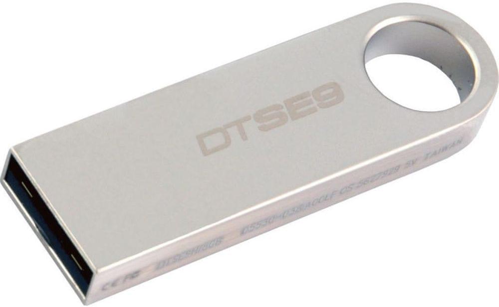 Kingston DataTraveler SE9 16GB / USB 2.0 / Metal (DTSE9H/16GB)