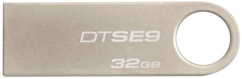 Kingston DataTraveler SE9 32GB / USB 2.0 / Metal (DTSE9H/32GB)