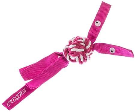Rogz COWBOYZ provazová hračka růžová vel. L