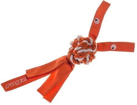ROGZ Cowboyz zabawka dla psa - pomarańczowa, rozm.L