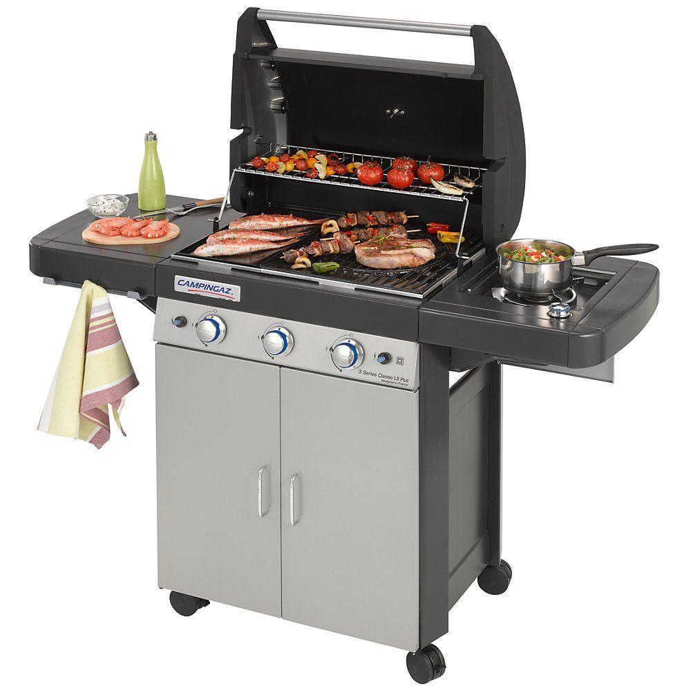 Jak vidíte, plynový gril vyšší kategorie už spíše připomíná plnohodnotný kuchyňský spotřebič