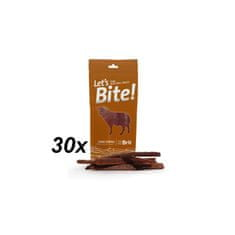 Brit Lets Bites Lamb Stripes - 30 x 30g