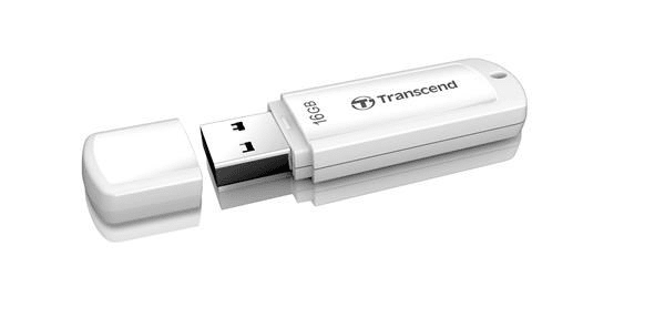 Transcend JetFlash 370 16GB bílý (TS16GJF370)