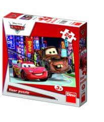 DINO CARS podlahové puzzle, 24 dielikov