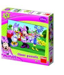 DINO MINNIE Puzzle podłogowe, 24 szt