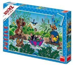 Dino Krtečkova plavba puzzle, 100XL dílků