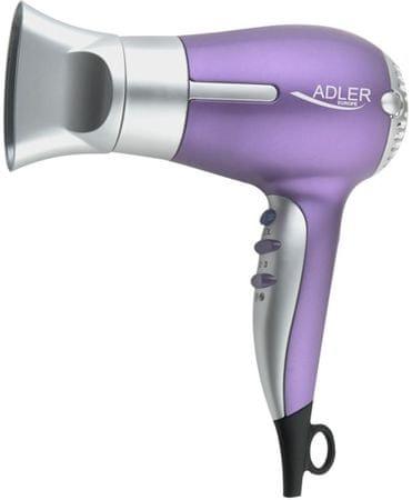 Adler sušilnik las 1500 W,vijoličen AD2218
