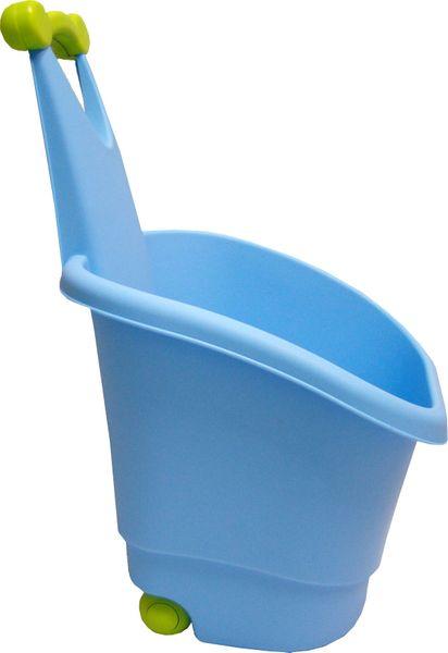 Marian Plast Vozíček na hračky modrý