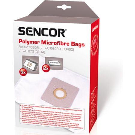 SENCOR Micro SVC 660/670 Porzsák