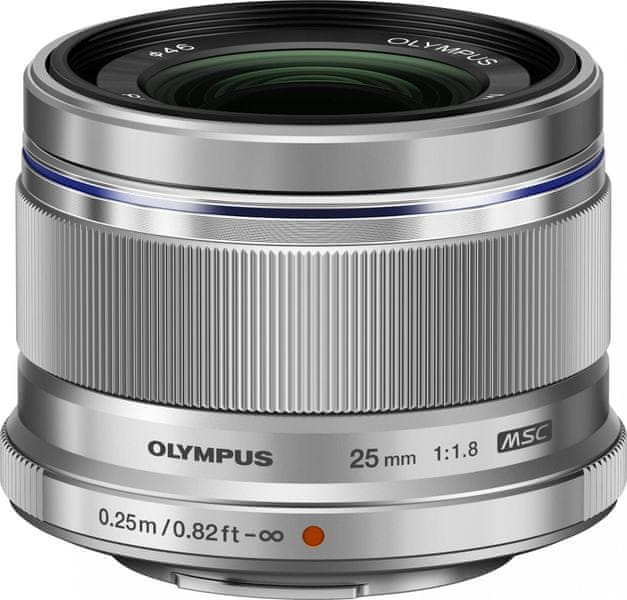Olympus 25 mm M.Zuiko Digital 1:1.8 Silver