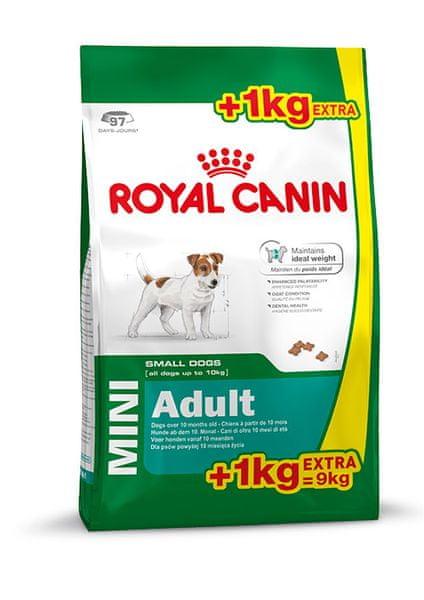 Royal Canin Mini Adult 8 kg + 1kg Zdarma