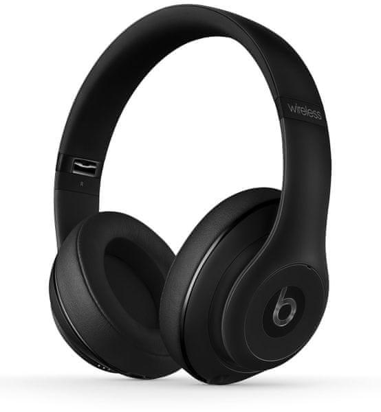 Beats by Dr. Dre Studio Wireless, matně černá (MHAJ2ZM/B)