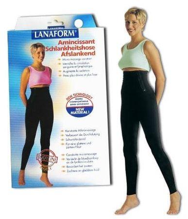 Lanaform Hlače za hujšanje in šport Body line Fuseau Črna 4